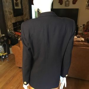 Dior Jackets & Coats - Christian Dior Vintage Navy Double Breasted Blazer
